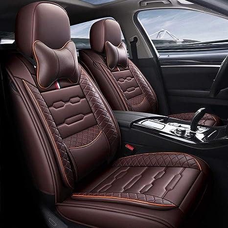 Sadge Für Audi E Tron Q7 Hybrid Tt Convertible Tts Convertible Auto Sitzbezüge Set Universal Pu Leder Auto Sitzschoner Set Leder Sitzbezüge Set Auto Sitzbezug Komplettset 5 Sitze Brown 1 Küche Haushalt