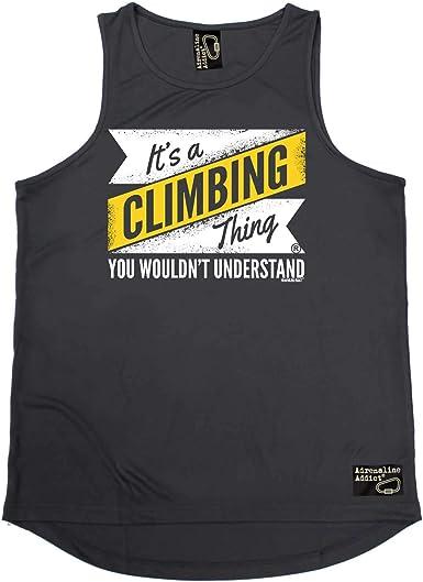 Chaleco de escalada en roca - It A Climbing Thing - Camiseta ...