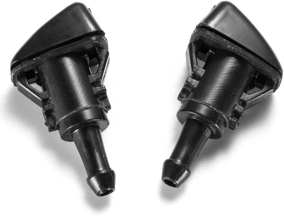 ACAMPTAR 2Pcs For Caliber Windshied Wiper Washer Nozzle Spray 2007-2012 5160308Aa