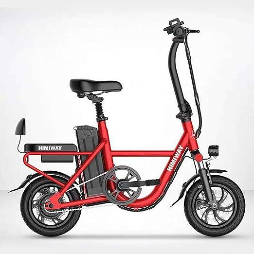 Ssltdm Bicicletta per Bicicleta Plegable Deportiva de 12 Pulgadas ...