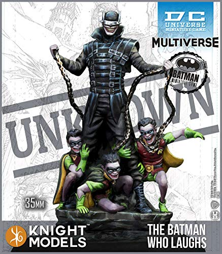 Resin 2nd Edition Batman Miniature Game Knight Models The Batman Who Laughs
