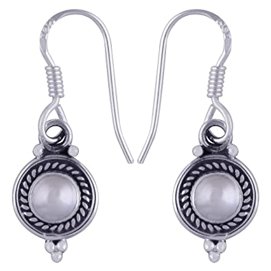 02b4617a8 Buy Silver Prince 925 Sterling-Silver Earrings for Women/Girls (2.4 Gram)  Online at Low Prices in India   Amazon Jewellery Store - Amazon.in