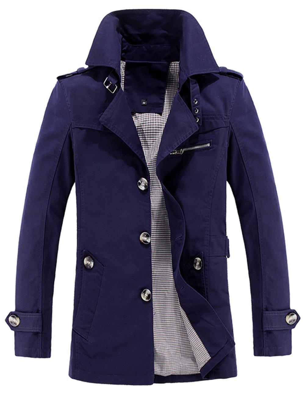Menschwear OUTERWEAR メンズ B075F7TDD6 5L|ブルー ブルー 5L