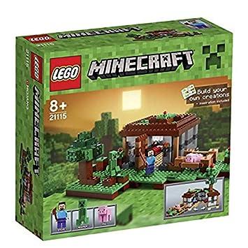 LEGO Minecraft Steves Haus Amazonde Spielzeug - Minecraft hauser schnell bauen