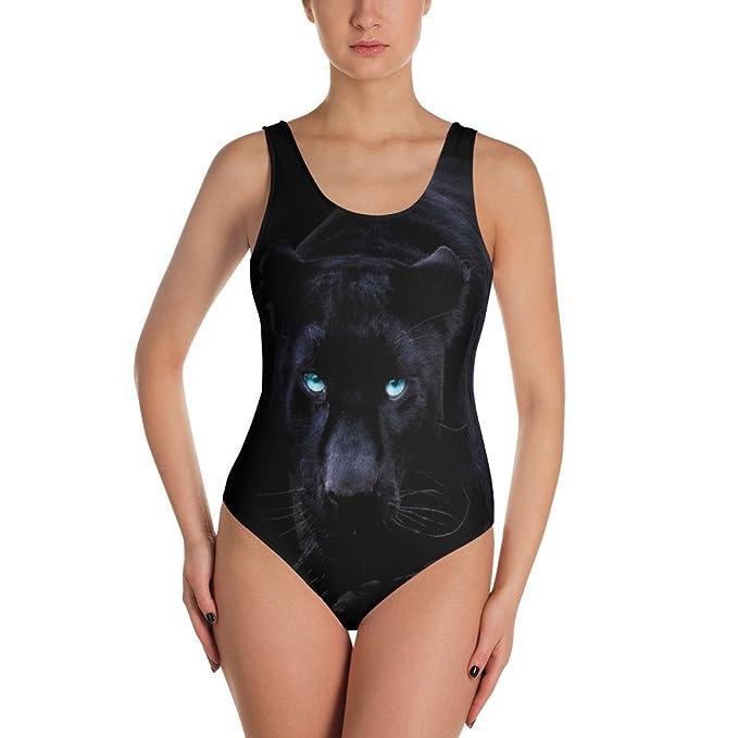 Amazon.com: insh Pantera Negra traje de baño de una sola ...
