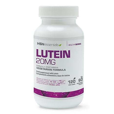 HSN Essentials - Luteína 20mg - Salud Ocular - Cuidado de los Ojos - Apto Vegetariano