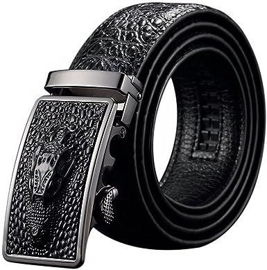 Fashion Men/'s Belt Crocodile Alligator Genuine Leather Only Belts No Buckles
