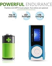 MX-803 Reproductor de música portátil Mini Digital con Reproductor de MP3, MP3,