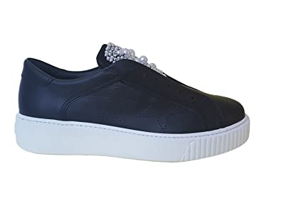 Tosca Blu TS1882S82 Slip On Damen Black 36 DLumTLidr
