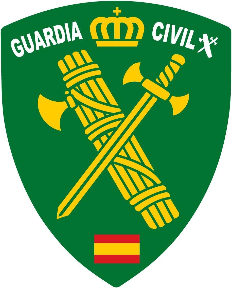 Artimagen Pegatina Escudo Pico Logotipo Guardia Civil 40x60 mm ...