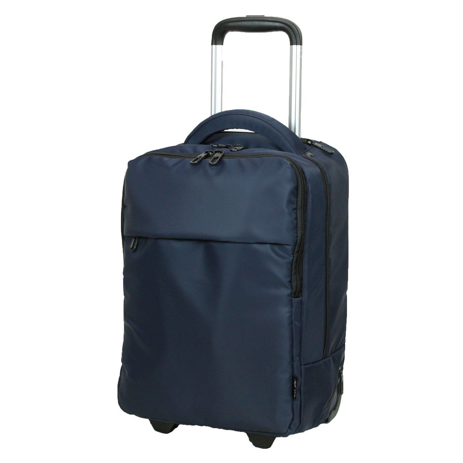 81-71005-50 Nylon Navy 【COLOCOLO by MOIERG】Carry On Rolling Backpack with Wheels S Nylon