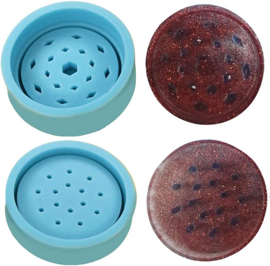 Silikonform Harzform Tabak Grinder Blatt Kr/äuter Herb Smoke Spice Crusher-Silikon-Form