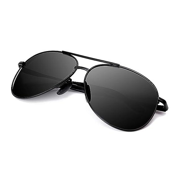 2019 New men/'s polarized sunglasses Driving glasses Black  ##1