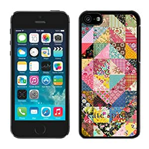 Personalized Design Customize iPhone 5C Protective Case Kate Spade New York Hardshell Case for iPhone 5c 5th Generation Cover 93 Black