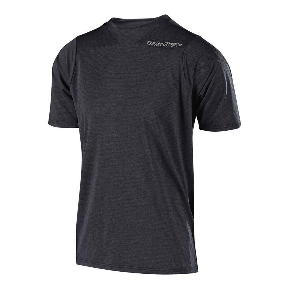 Troy Lee Designs Skyline S/S Men's BMX Jersey - Heather Black / Medium
