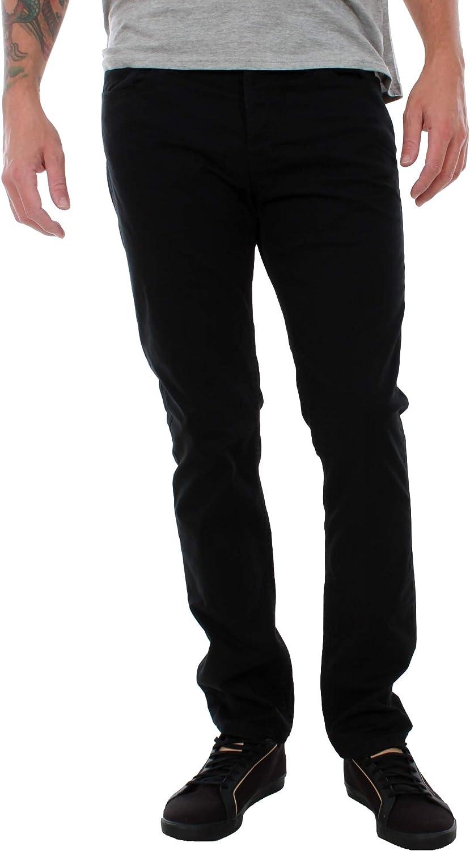 TALLA 30W x 32L. Jack & Jones Hombre Tim 410 Slim Original Jeans, Negro
