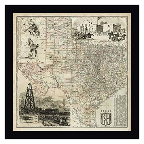 Map of Texas by Vision Studio - 27