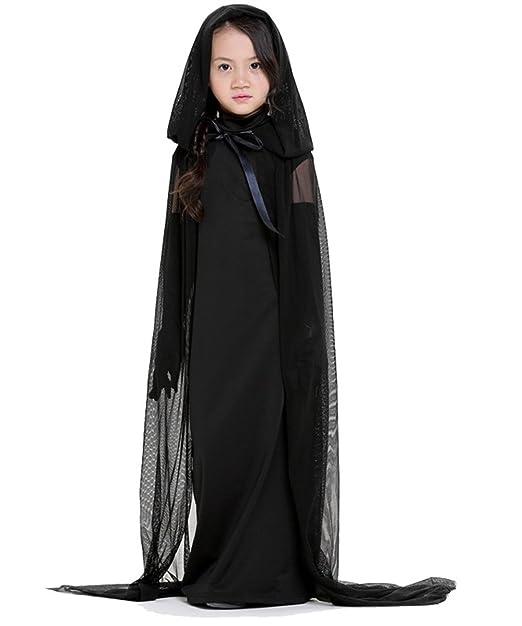 sunnorn niños y adultos de disfraz de Halloween Bruja Prom Vestido ...