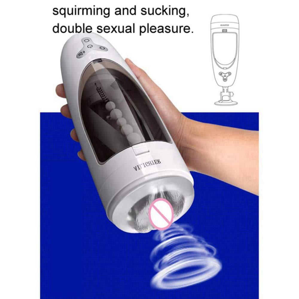 Handsfree Deep Throat Rotating Male Sucker Intelligent Voice Sucking Device by AUTOAOI