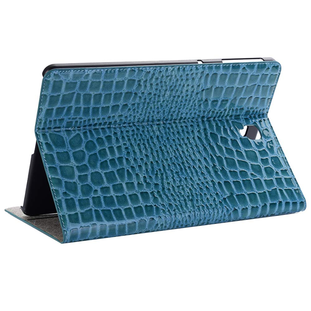 Jennyfly Cover for Galaxy Tab A 10.5(SM-T590/SM-T595),Smart Shell Stand Function Card Slots and Stand Feature Tablet Cover for Samsung Galaxy Tab A 10.5(SM-T590/SM-T595) - Blue by Jennyfly