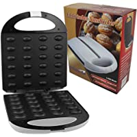 Appareil à plaque chauffante pour 24 biscuit en forme de noix/Gaufrier