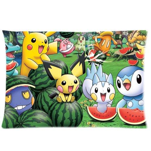 Decorative-Throw-PillowcaseCute-Pokemon-Pikachu-Pillow-Case-Living-Room-Decor-Blend-Pillow-Cover-50x75cm