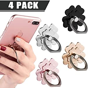 VE VE POWER Phone Ring Stand Finger Ring Holder 360° Rotation Phone Holder Ring Grip Compatible with Apple iPhone Xs Max XR X 8 7 Plus 5 5s Samsung Galaxy S8 S7