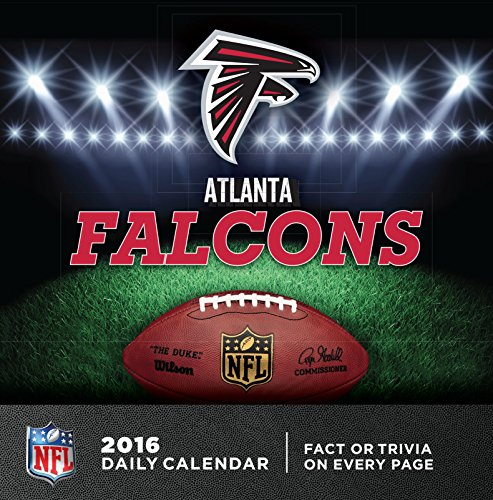 Turner Atlanta Falcons 2016 Box Calendar, January-December (8051429)