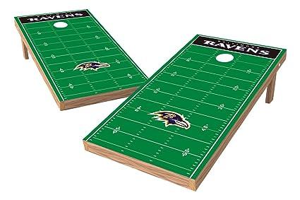 Amazon Com Wild Sports Nfl Baltimore Ravens 2 X 4 Football Field