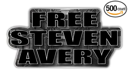 Amazon Steven Avery Decal Free Prison Netflix Making A