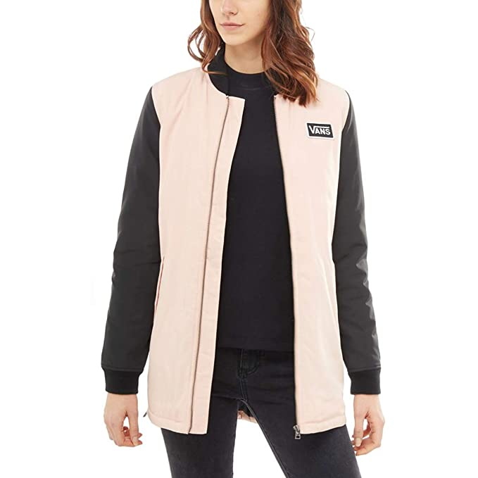 Vans Cazadora WM Boom Boom Long Jacket Rose Cloud (M ...