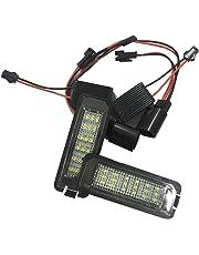 REFURBISHHOUSE 2X 24 LED Luz de matricula de Licencia para Passat B6 B7 Golf GTI MK5
