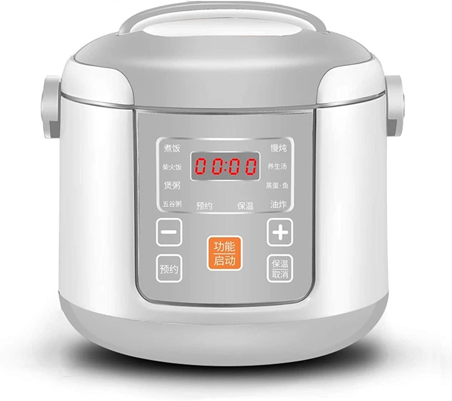 8-in-1 Electric Pressure Cooker, Sterilizer, Slow Cooker, Rice Cooker, Steamer, Saute, Warmer, 2 Liters Large Capacity