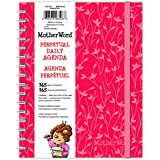 Mead Motherword Mwpa0328 Perpetual Daily Agenda, Twin Wire Binding, 8-1/2 X 6-3/4 Inches