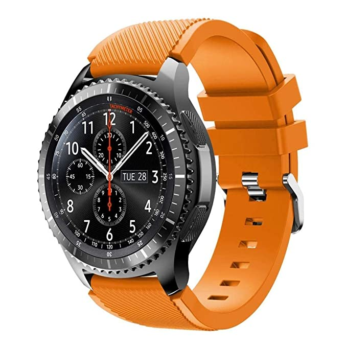 Saisiyiky Correas para Relojes Samsung Gear S3 Frontier Banda de ...