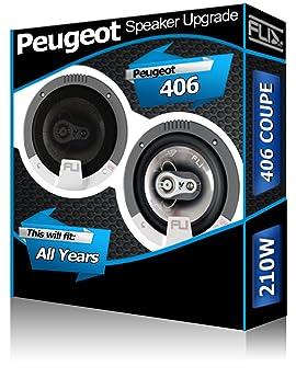 Peugeot 406 Coupe Coche Kit de Altavoces de Audio Fli Audio ...
