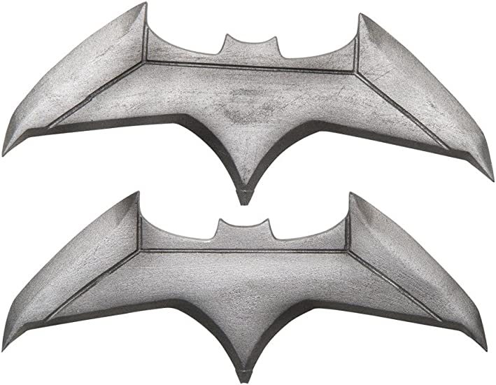 Rubie's Batman v Superman : Batman Batarangs Costume Accessory