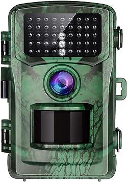 Cámara de Vida Silvestre apeman 16MP 1080P Trail trampa con visión nocturna por infrarrojos