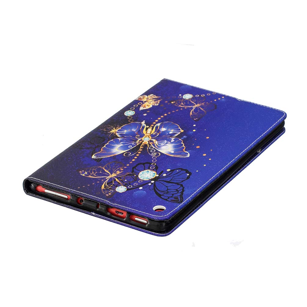 Mixpring  Kindle Fine HD8 8 inch Case 2016//2017 Smart Stand PU Leather Folio Flip Wallet Case Cover Colorful Painted Sturdy Full Body Protector with Card Slots Cash Holders