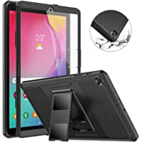 MoKo Case Fit Samsung Galaxy Tab A 10.1 2019, [Heavy Duty] Shockproof Full Body Rugged Stand Back Cover Built-in Screen…