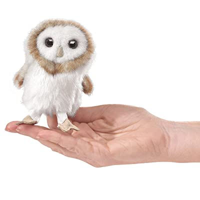 Folkmanis Mini Barn Owl Finger Puppet: Toys & Games