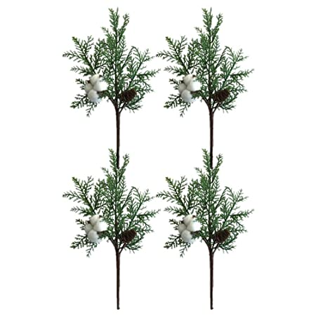 4x Simulation Plastic Tree Branches Twig Plants Home Wedding Decoration