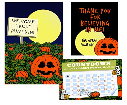 Silly Goose Gifts Welcome To The Great Pumpkin Halloween Decoration and Countdown Letter Project Set