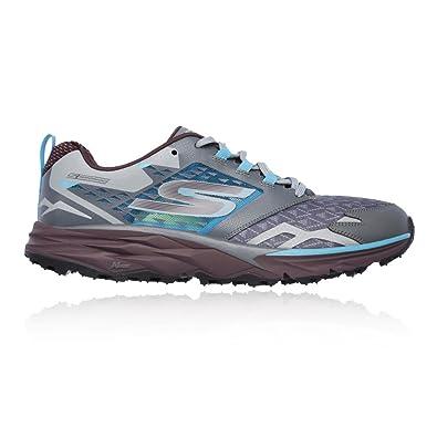 Skechers Men's GOtrail Running Shoe,Charcoal/Multi,US ...