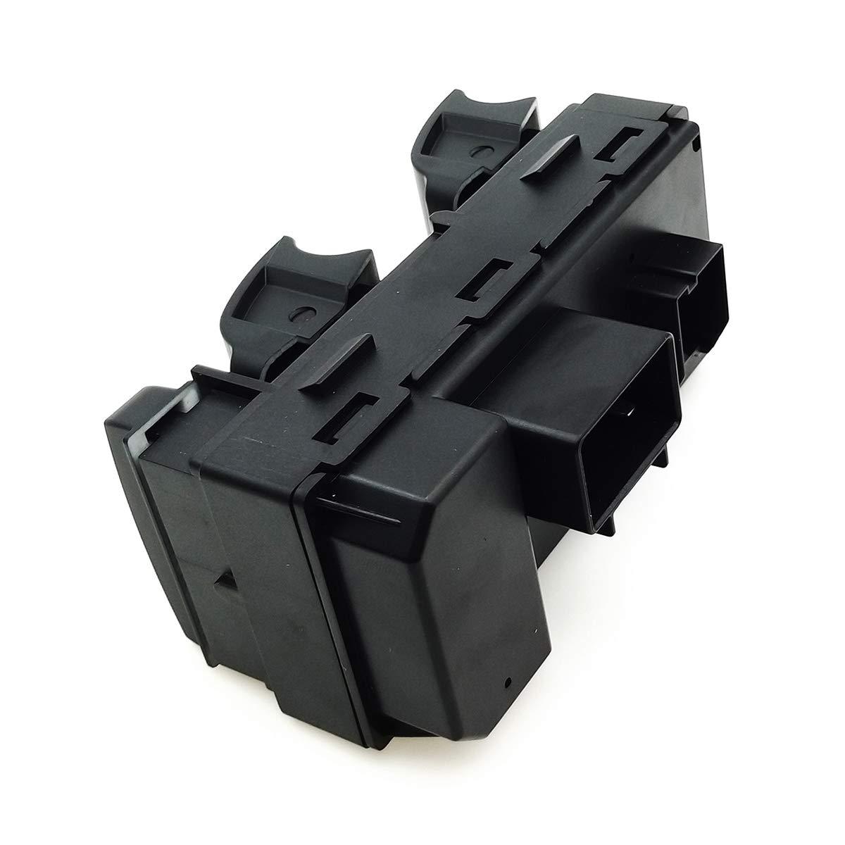 BOPART Driver Side Master Power Window Switch 20945129 25789692 for 2007-2013 Chevy Silverado GMC Sierra 1500 /& 2500//3500 HD 2009-2014 Chevrolet Traverse /& 2008-2011 HHR 2009-2013 Buick Enclave