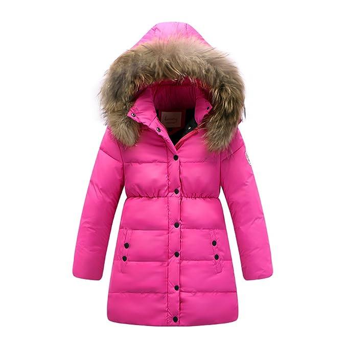 Amazon.com: shengdilu Invierno Wear Kids Big Girls Down ...