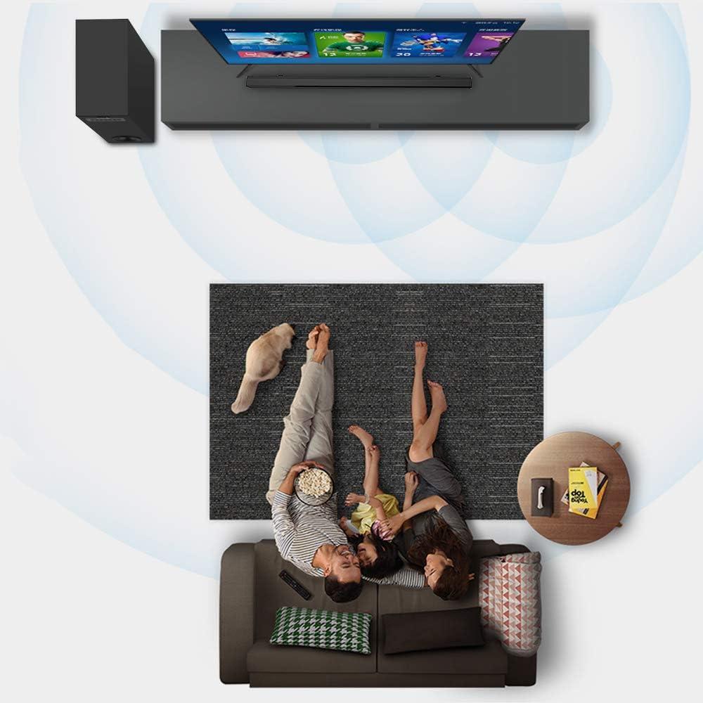 Sound Bars for TV Meidong TV Sound Bar with Subwoofer 2.1 Channel Speakers Soundbar 36-inch 72 Watt Soundbars