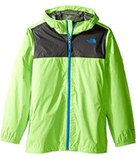 2fee6f0bc4c5 Amazon.com  The North Face Boy s Zipline Rain Jacket Power Green XS ...