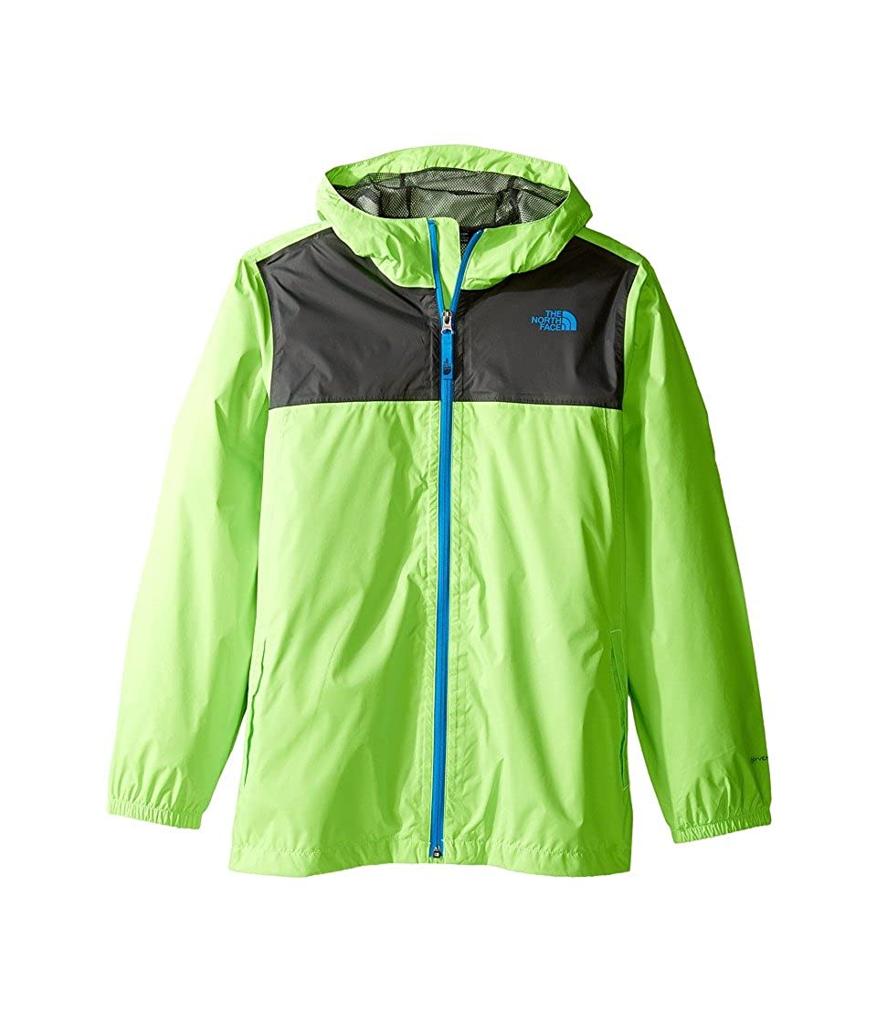 75a1ec22 Amazon.com: The North Face Boy s Zipline Rain Jacket Power Green XS:  Clothing