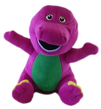 Amazon Com Barney And Friends Classic 12in Barney Plush Barney